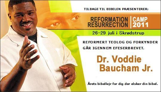 Voddie Baucham hovedtaler hos Tilbage til Bibelens bibelcamp 2011